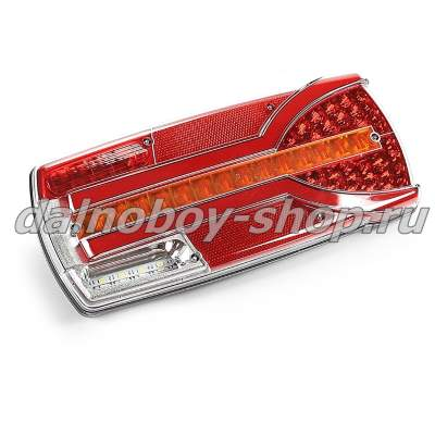 Фонарь задн. HORPOL CARMEN LZD-2404 левый 12-24v LED (AMP 7PIN)