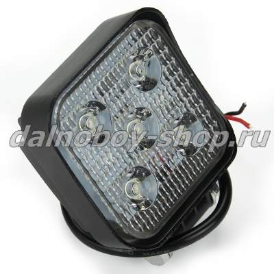 "Фара п/т  универ.DF-5015  3.5"" FLOOD  5SMD 15W LED 12/24v"
